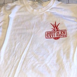 5 for $25 Southernology  Comfort Colors white tee